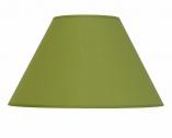 Abat-jour conique vert Fougère