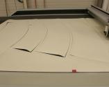 Découpe du tissu