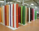 Stock tissus contrecollés sur PVC